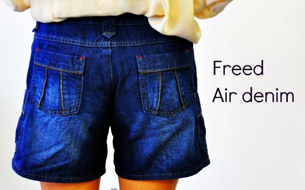 フリードエアデニムFreed Air denim で暑い夏もデニムはマスト!