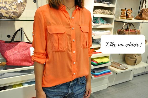 必見2013流行のシャツ着こなし術はコレクションのエディターから拝借!
