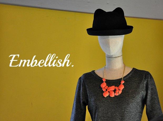 2013年春流行ネオンカラーがきてます!Embellish.展示会速報