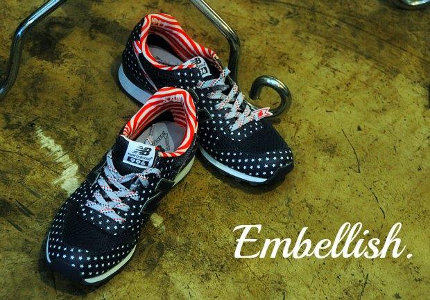 千趣会エンブリッシュEmbellish.のセレクト大人女性スニーカーやマニッシュ靴でStyleを