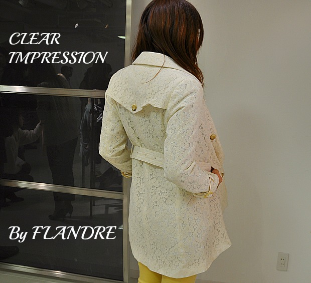 トレンチコートや薄手のドレスコート入学・入園にフランドル・マーリエMaglieなど