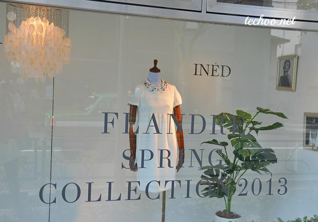 フランドルFLANDRE2013春夏展示会でMAGLIEマーリエとLE SOUK ef-deなど撮影