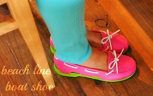 足の痛くない靴ビーチラインボートシューサンダルクロックスcrocs