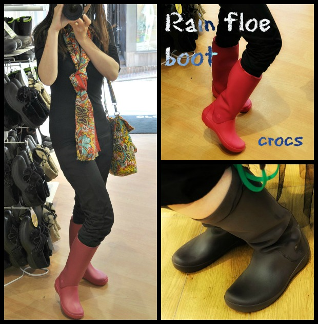 Rain floe boot Collage