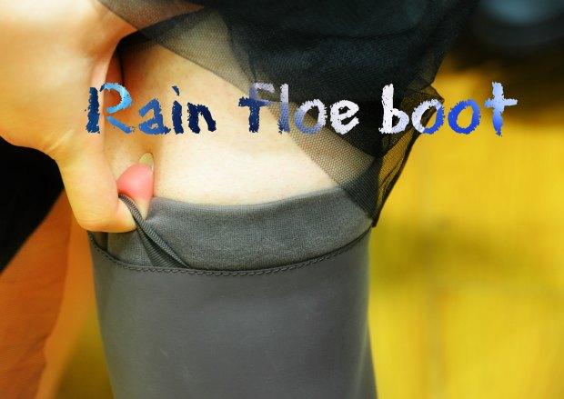 Rain floe boot2211