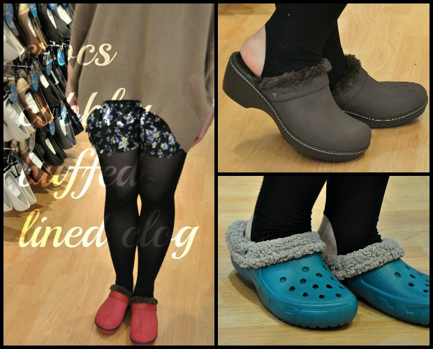 crocs cobbler buffed lined clogCollage