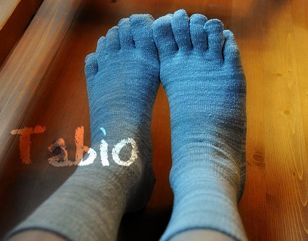あったかソックス五本指靴下で、冷え解消!タビオの絹ソックス