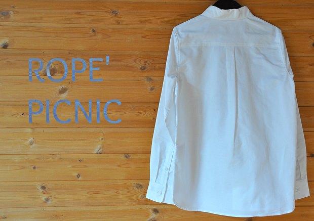ROPE' PICNICwhite9shirts11