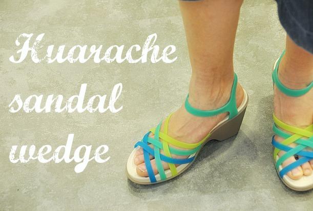 huarache sandal wedge20141