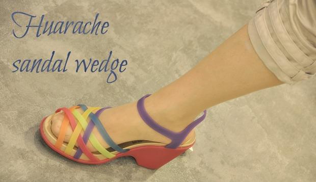 huarache sandal wedgeself21