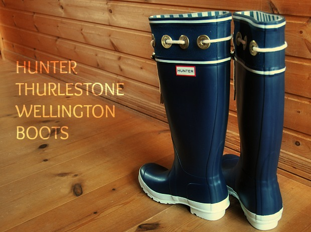 HUNTER 345 THURLESTONE WELLINGTON BOOTS