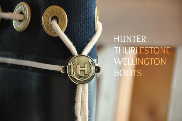 HUNTER レインブーツ ハンター可愛い長靴サーレストンTHURLESTONE BOOTS口コミ