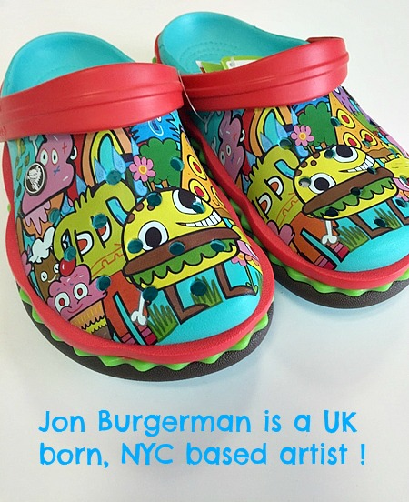 crocsJon Burgerman