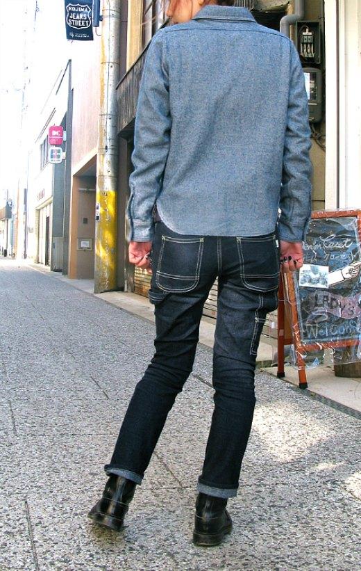 デニムが2015流行!日本製岡山倉敷デニムクローゼットのペインタースキニー