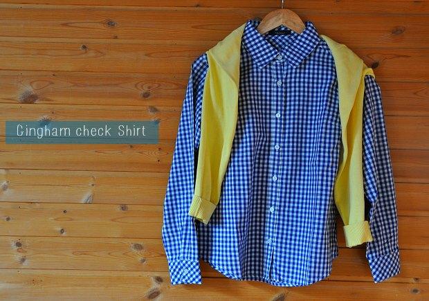 gingham checkshirt_0570