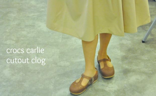 crocs carlie cutout clog w034