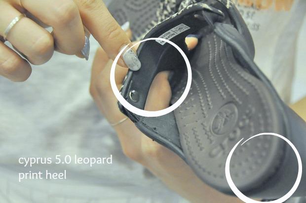 cyprus 5.0 leopard print heel 98452
