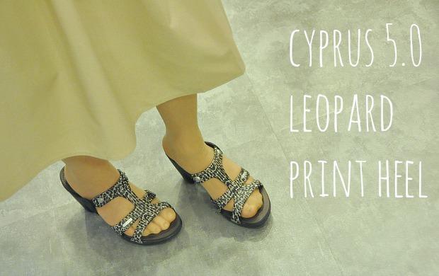 cyprus 5.0 leopard print heel