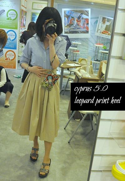 cyprus 5.0 leopard print heel2634