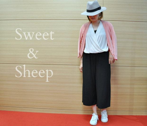 楽天人気オールインワンサロペットSWEET&SHEEPのコーディネート