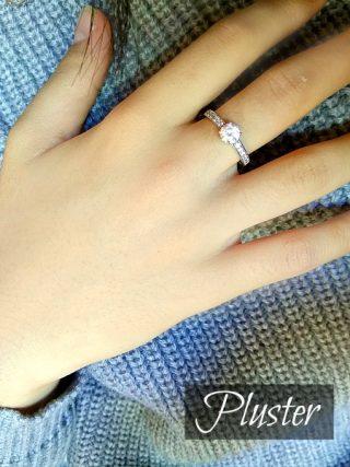 ジュエリーブランドプラスターPLUSTERスワロフスキーが人気の指輪!