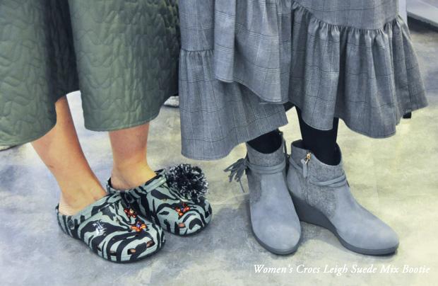 Women's-Crocs-Leigh-Suede-Mix-Bootie