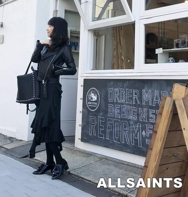 ALLSAINTS(オールセインツ)Balfern biker size2 XXSサイズ