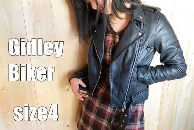 GIDLEY BIKER SIZE4