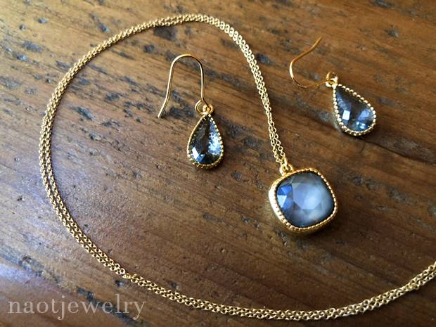 naotjewelry スワロフスキーネックレス